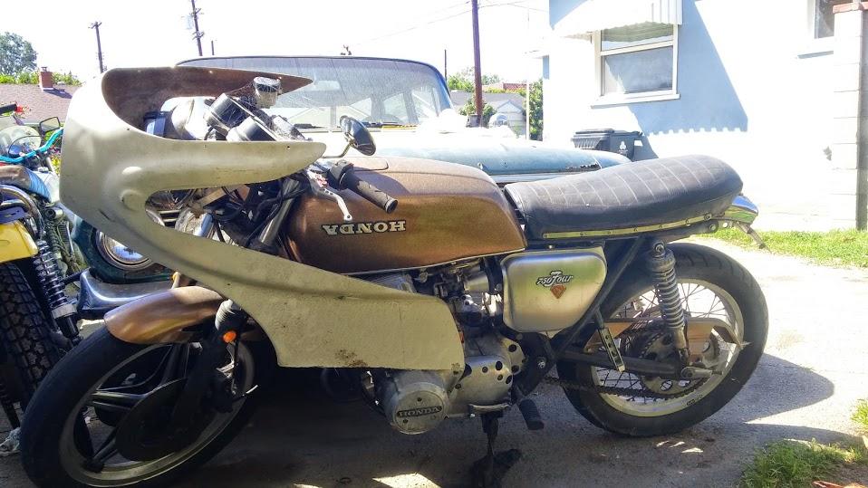1972 Honda CB750 Cafe Racer with Fairing